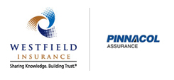 Insurance logos: WestField Insurance and Pinnacol Assurance